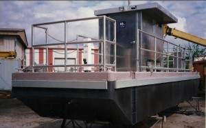 Sanitary Pump-out Barge